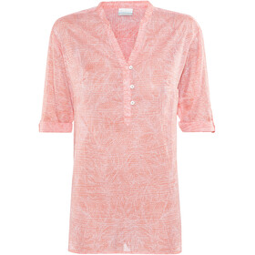 Columbia Early Tide Tunic Women lychee tropic dot
